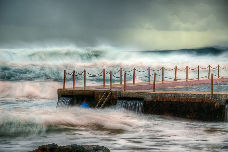 Photograph South Curl Curl Beach by Dave Smith on 500px