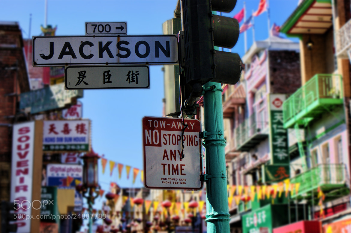 Photograph San Francisco Chinatown Signpost by Tony Jones on 500px