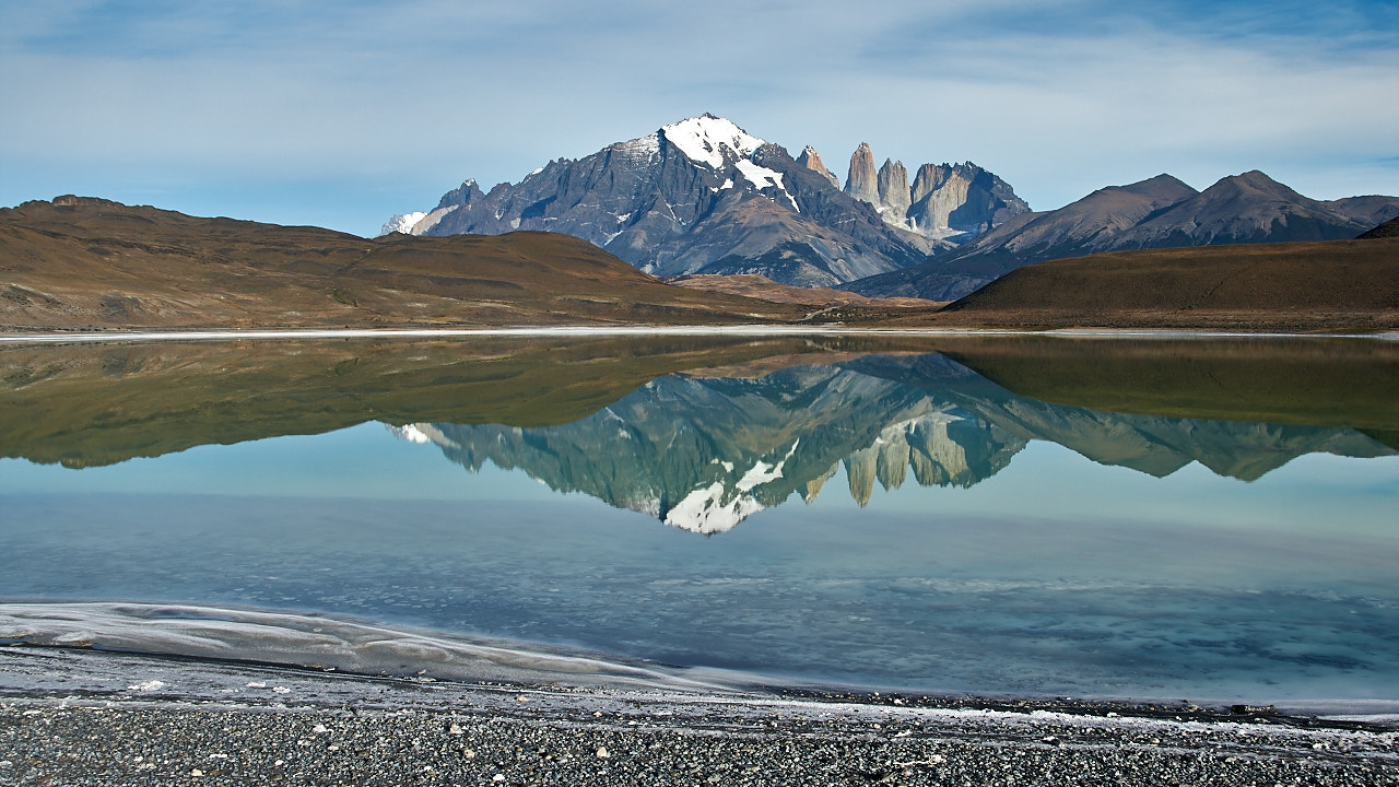 Photograph Mirror del Paine by Unknown Drummer on 500px