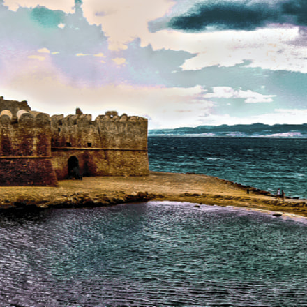Le Castelle, Calabria in, Canon POWERSHOT A450