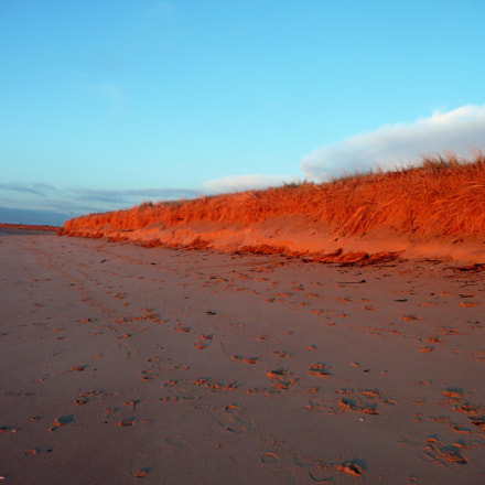 Sunrise at the beach, Panasonic DMC-TZ5