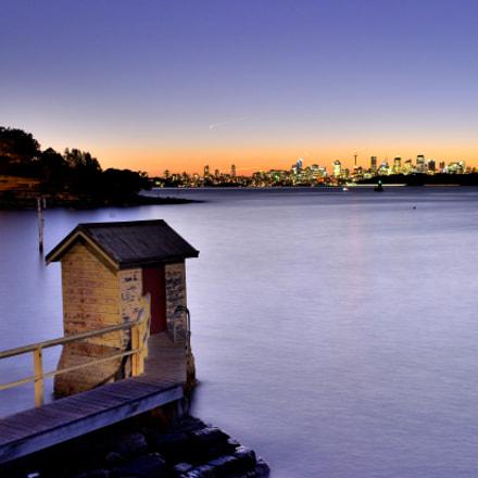 Sunset scene of a, Nikon D810, AF-S Zoom-Nikkor 28-70mm f/2.8D IF-ED