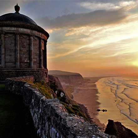 Mussenden Temple, Northern Ireland, Sony DSC-WX200