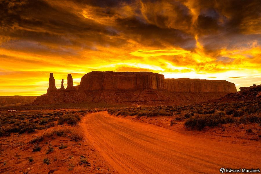 Photograph The road to hell by Edward Marcinek on 500px