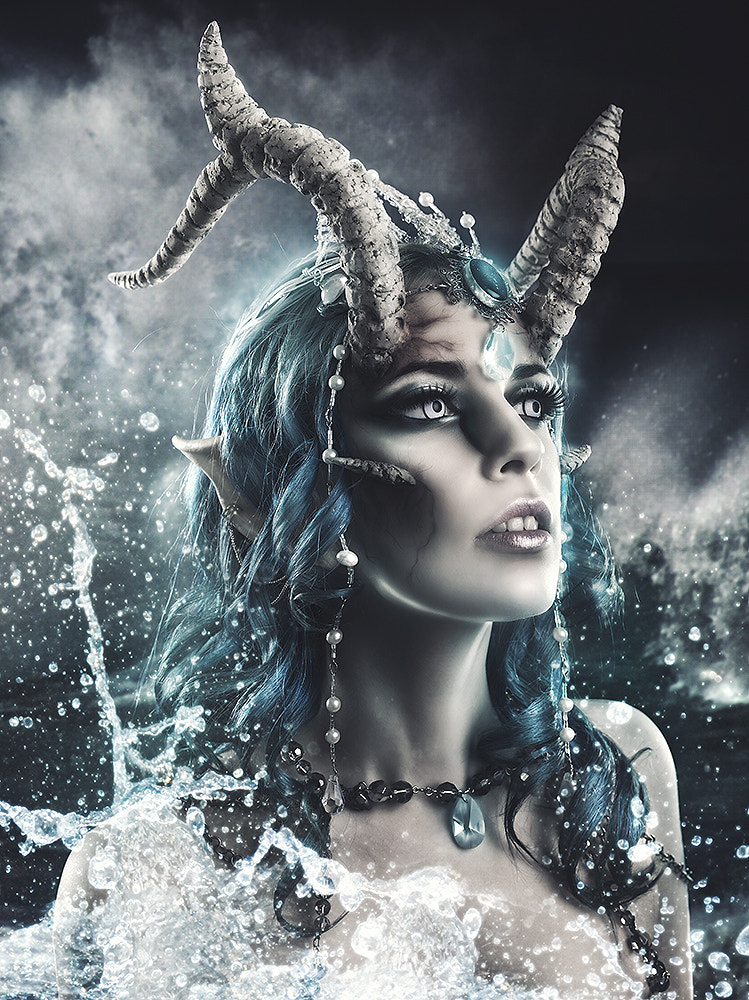 Photograph The demon born in the sea by Rebeca  Saray on 500px