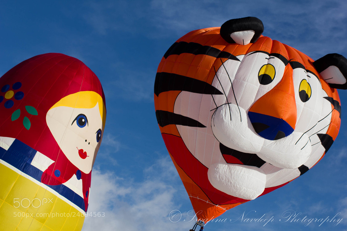 Photograph Colourful Hotair Balloons by Swapna Navdeep on 500px