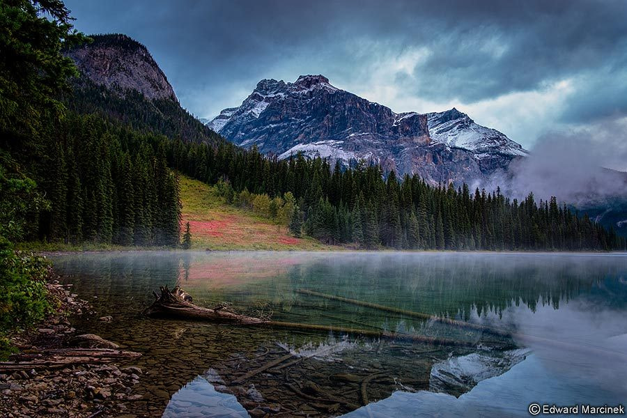 Photograph Sunrise at Emerald Lake by Edward Marcinek on 500px