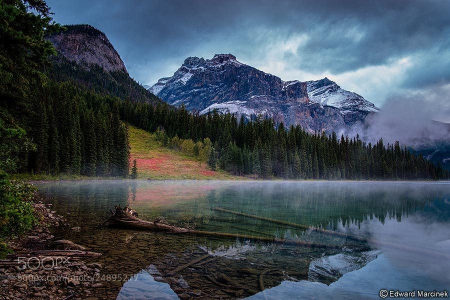 Photograph Sunrise at Emerald Lake by Edward Marcinek on 500px