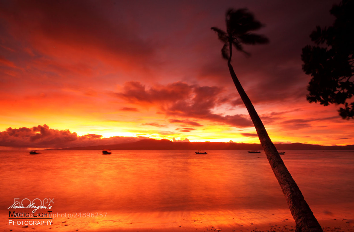 Photograph Qamea Sunset 6 by Kevin Morgan on 500px