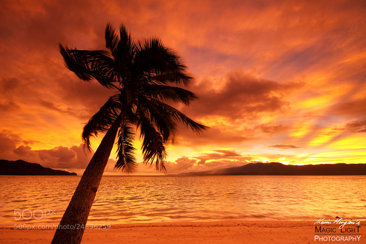 Photograph Qamea Sunset 5 by Kevin Morgan on 500px