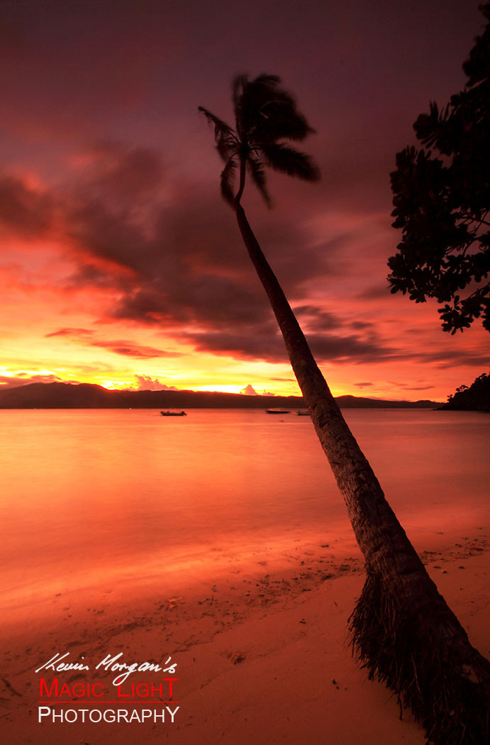 Photograph Qamea Sunset 7 by Kevin Morgan on 500px