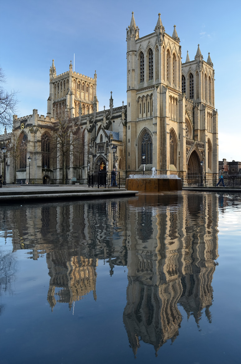 Photograph Bristol Cathedral  by David Field on 500px
