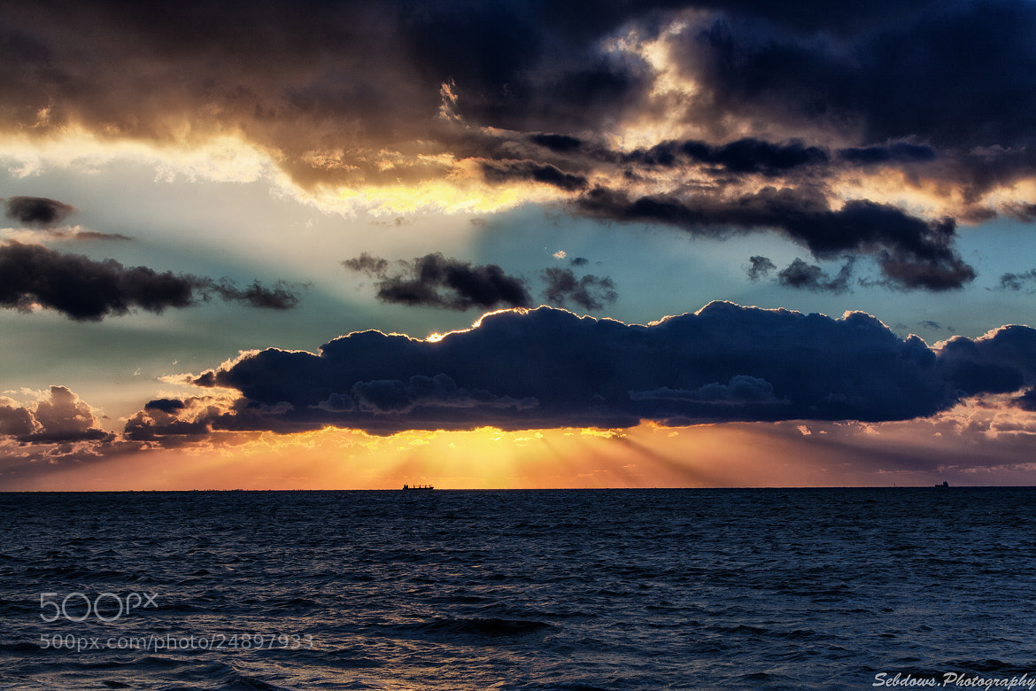 Photograph Blue Sunset by Sebdows Photography on 500px