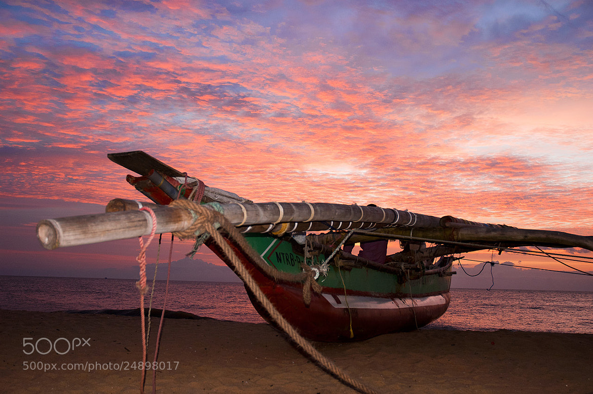 Photograph Boat on Negombo Beach 9554 by Pat Burns on 500px