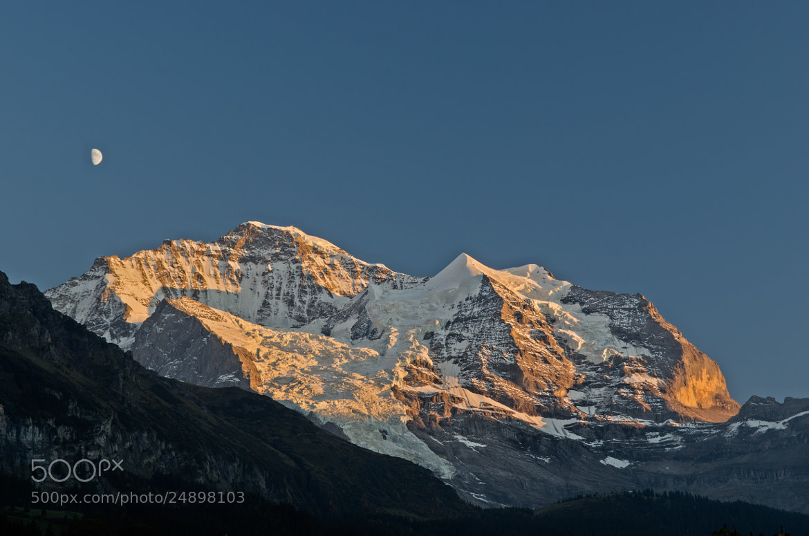 Photograph Jungfrau at Sunset by Trevin Chow on 500px