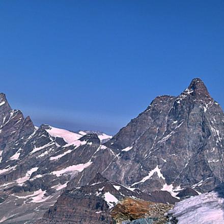 Matterhorn unusual, Panasonic DMC-FZ100