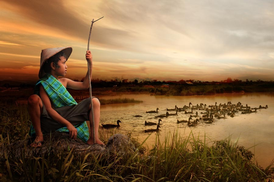 Photograph duck shepherd by budi 'ccline' on 500px