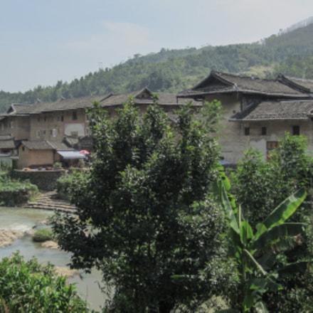 Fujian Yongding scenery, Canon IXUS 220HS
