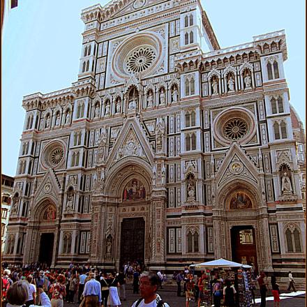 La facciata del Duomo, Fujifilm FinePix JX250