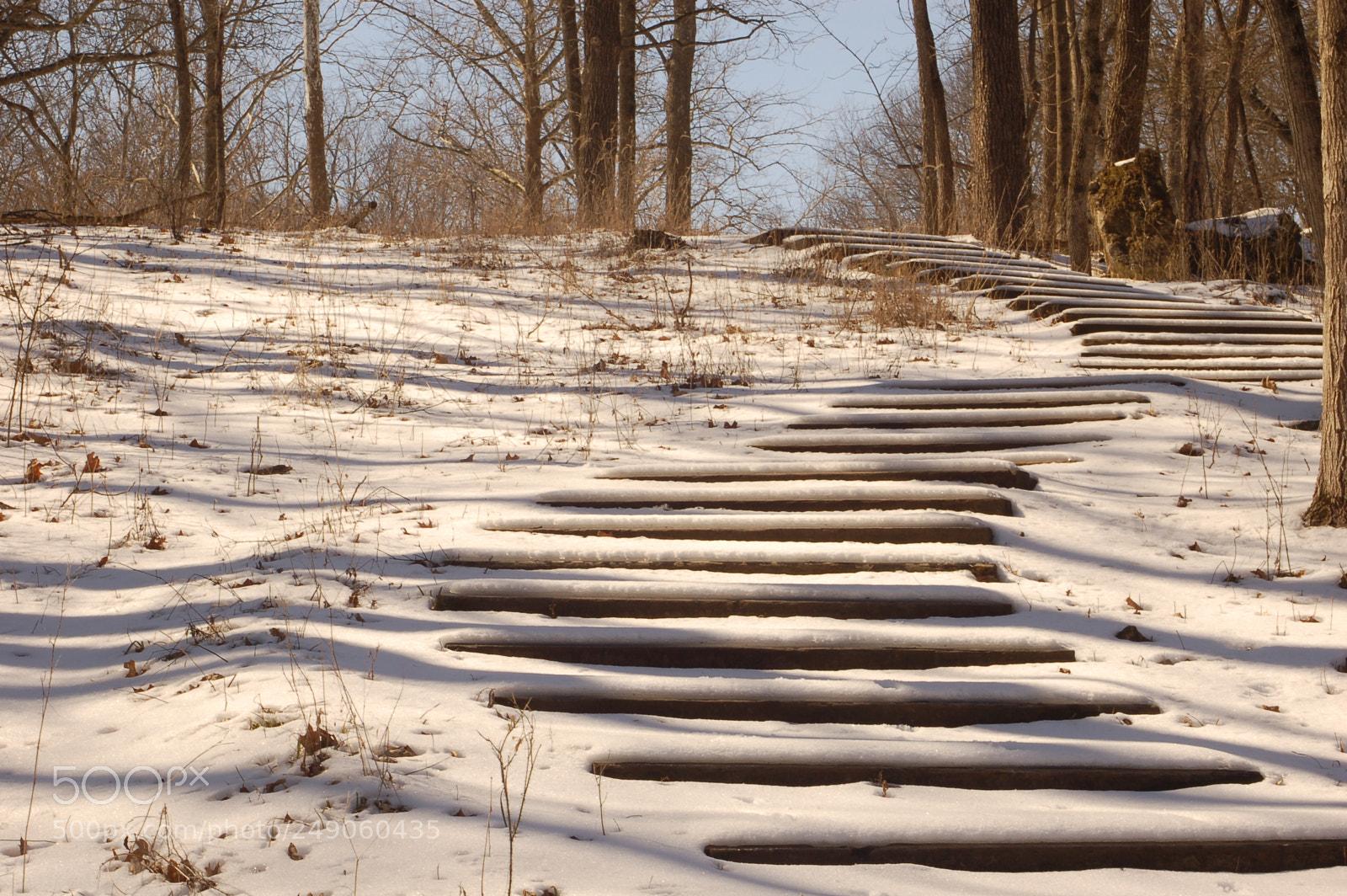 Stairway to the Top, Nikon D50, AF Zoom-Nikkor 35-70mm f/2.8D N