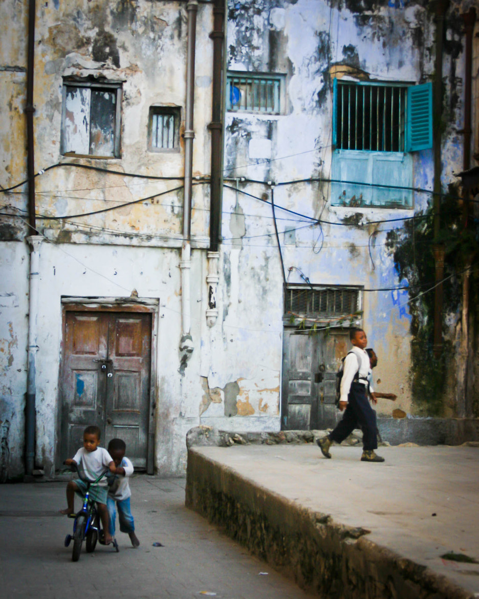 Photograph Stone Town Kids by Malik Vision on 500px