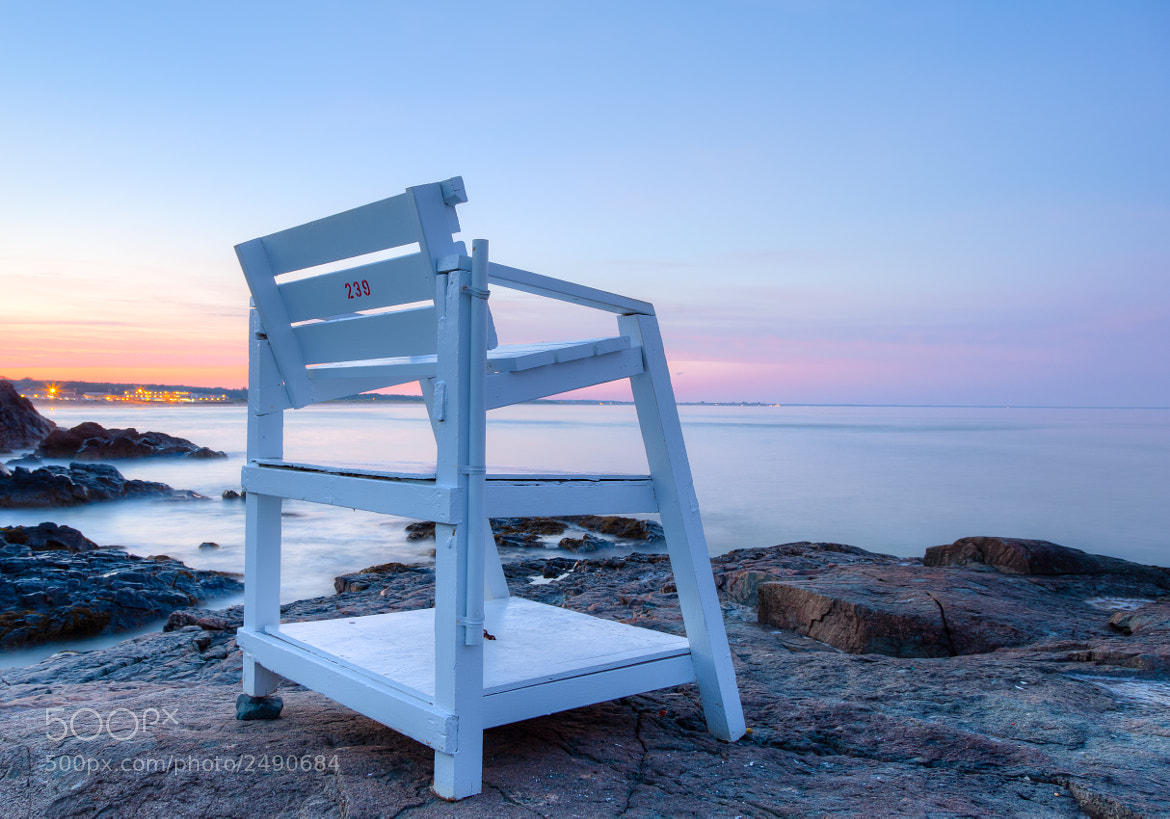 Photograph A Seat by the Sea, Ogunquit, ME. by Stanton Champion on 500px