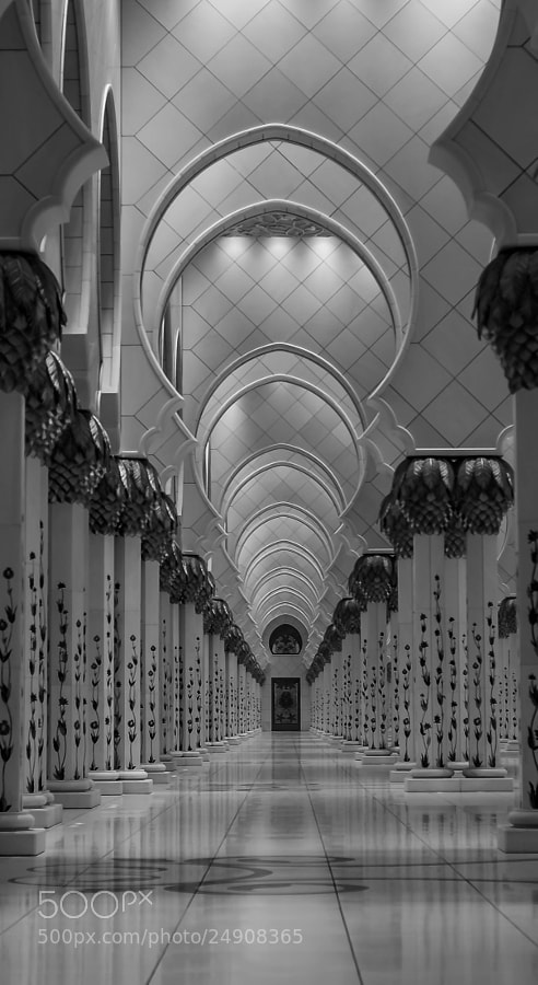 Photograph The Door, The Grand Mosque, Abu Dhabi by julian john on 500px