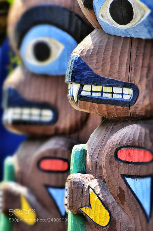 Photograph Totem Poles - Seattle by Glenn  McGloughlin on 500px