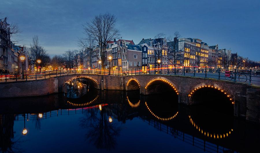 Bridge over Keizersgracht de alowlander en 500px.com