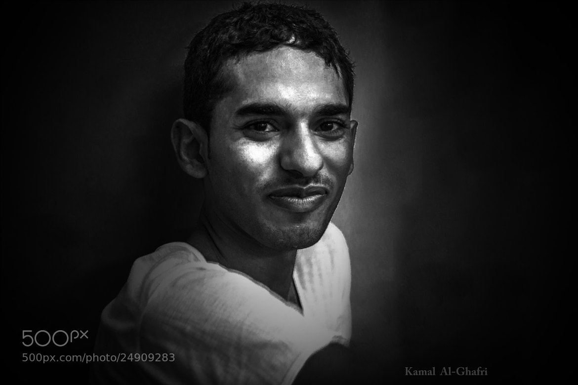 Photograph Smile Black and White by Kamal AL Ghafri on 500px