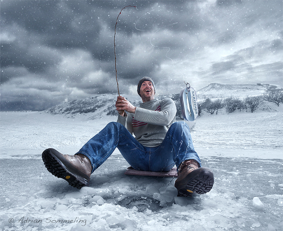 Photograph Ice Fishing ;) by Adrian Sommeling on 500px