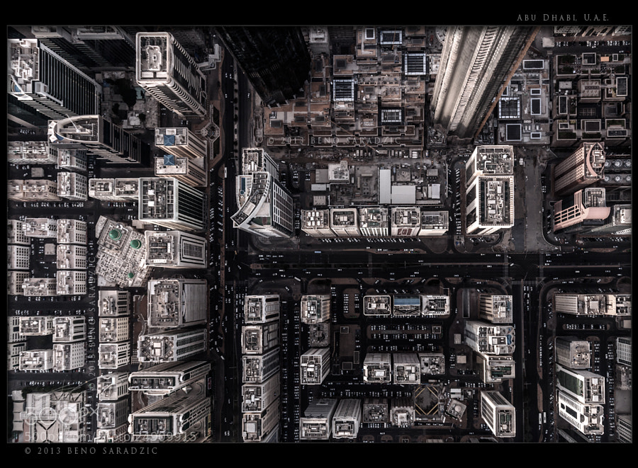 Photograph Abu Dhabi Vertigo by Beno Saradzic on 500px