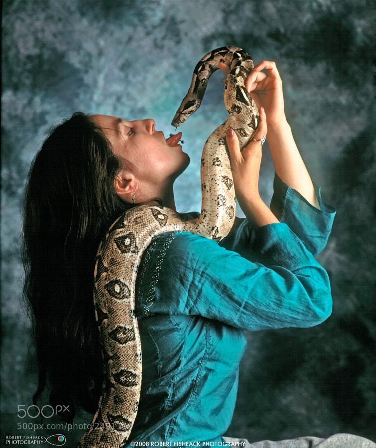 Snake test Models Tongue stud