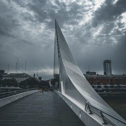 Puente de la Mujer, Fujifilm FinePix F70EXR