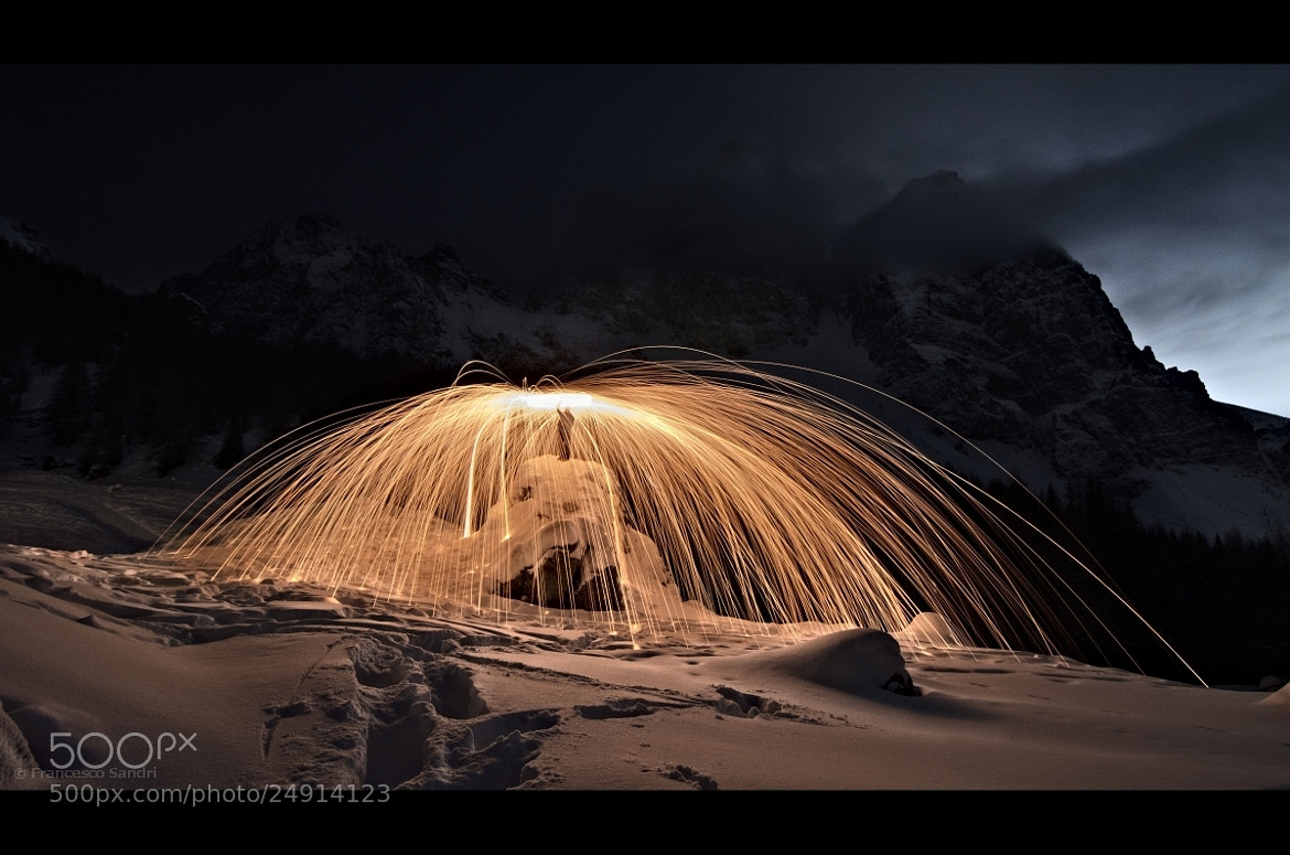 Photograph Sparkling fire in the snow by Francesco Sandri on 500px
