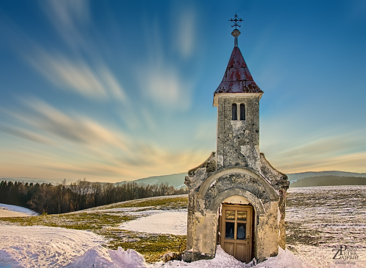 Photograph Chapel in the clouds by Peter Zajfrid on 500px