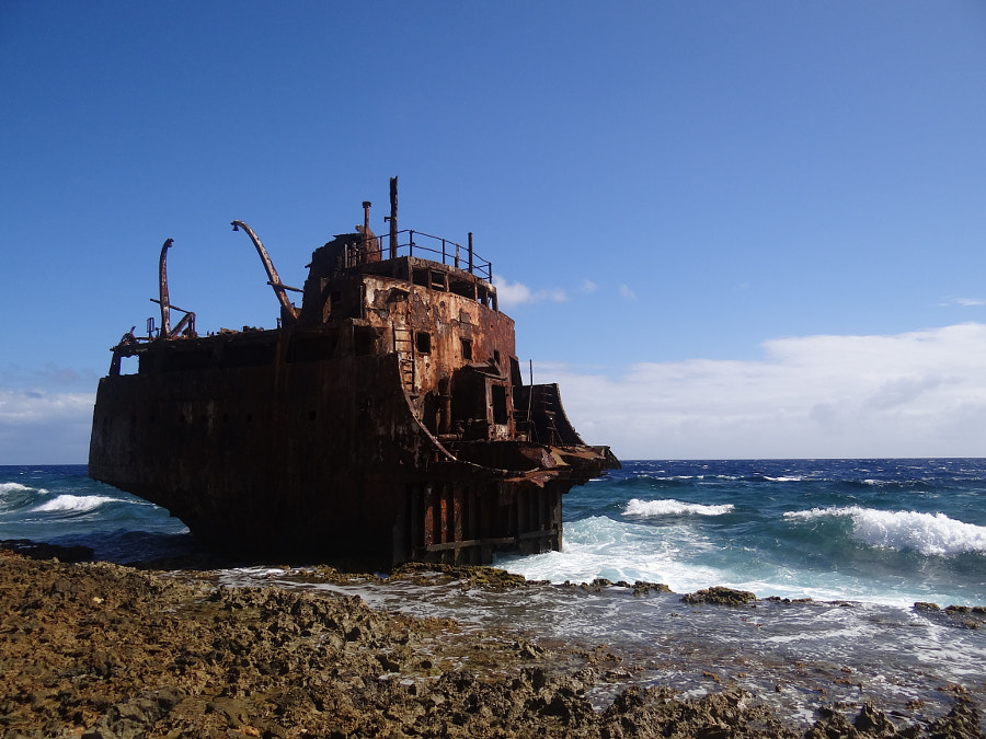 Shipwrecked on Klein Curacao