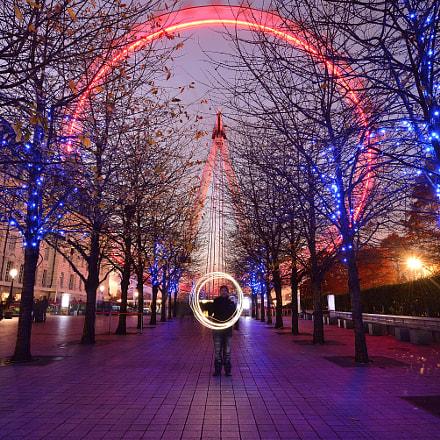 London eye, Nikon D610