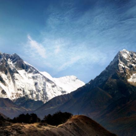 Everest, Lhotse and Ama, Nikon COOLPIX L18