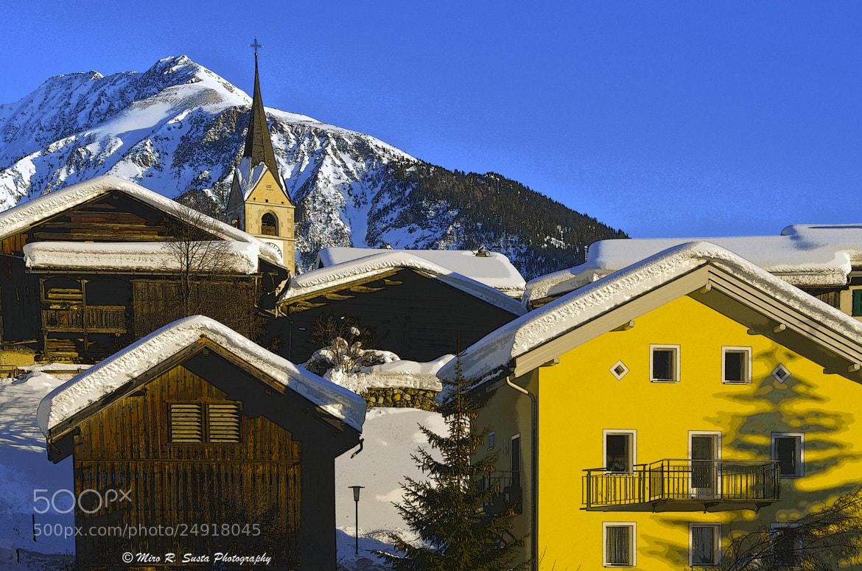 Photograph Swiss Village by Miro Susta on 500px