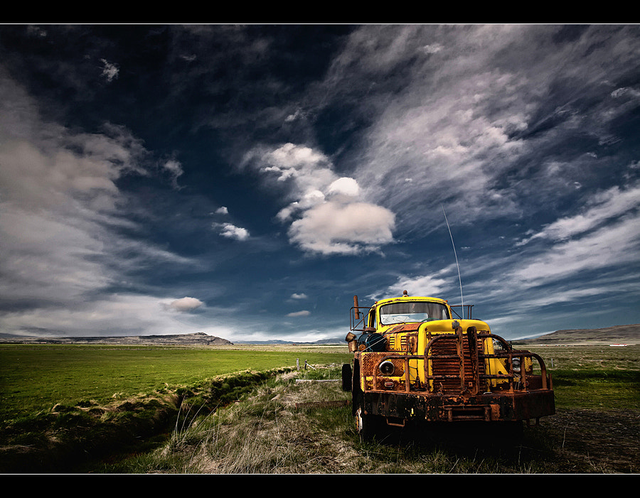 Photograph Yellow Truck by Þorsteinn H Ingibergsson on 500px