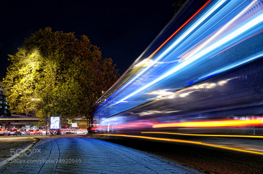 Photograph Bus Lights by Alfon No on 500px
