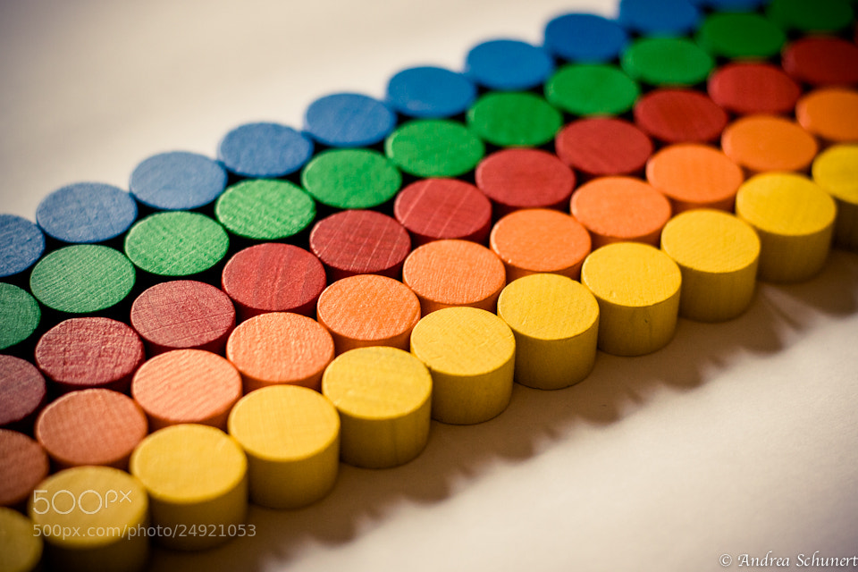 Photograph life is colorful by Andrea Schunert on 500px