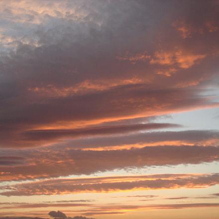 Red sky in scotland, Sony DSC-W100
