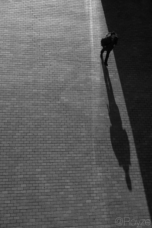 Photograph Follow along the shadow by Royze   on 500px