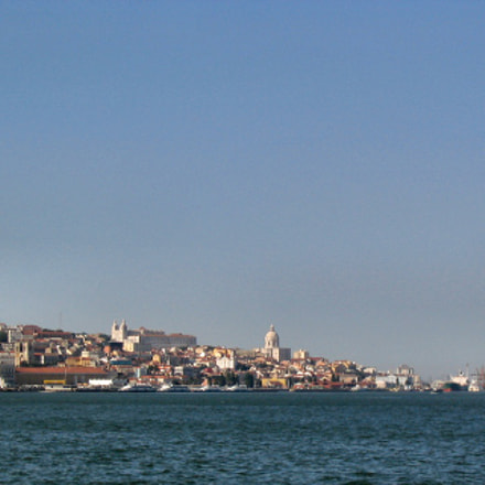 Lisboa desde o Tejo, Canon POWERSHOT A70