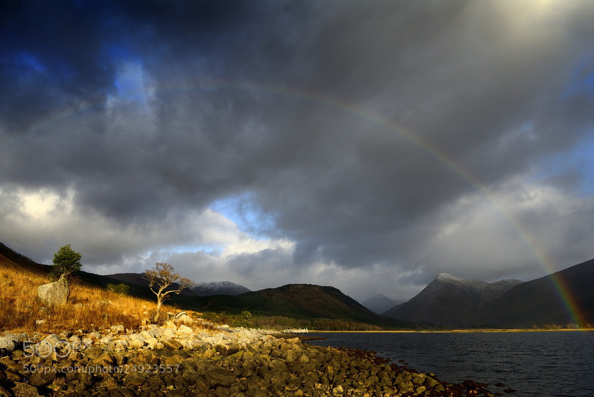 Photograph Loch Etive Rainbow by Peter Fothergill on 500px