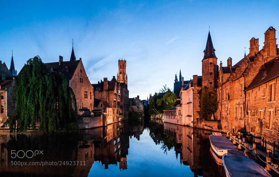 Photograph Brugge at Night by Jose Agudo on 500px