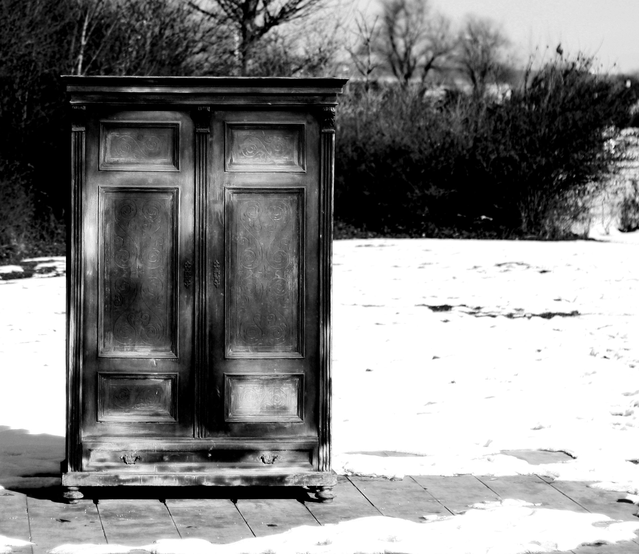 Photograph lonely cabinet by Verena KunstWerk on 500px