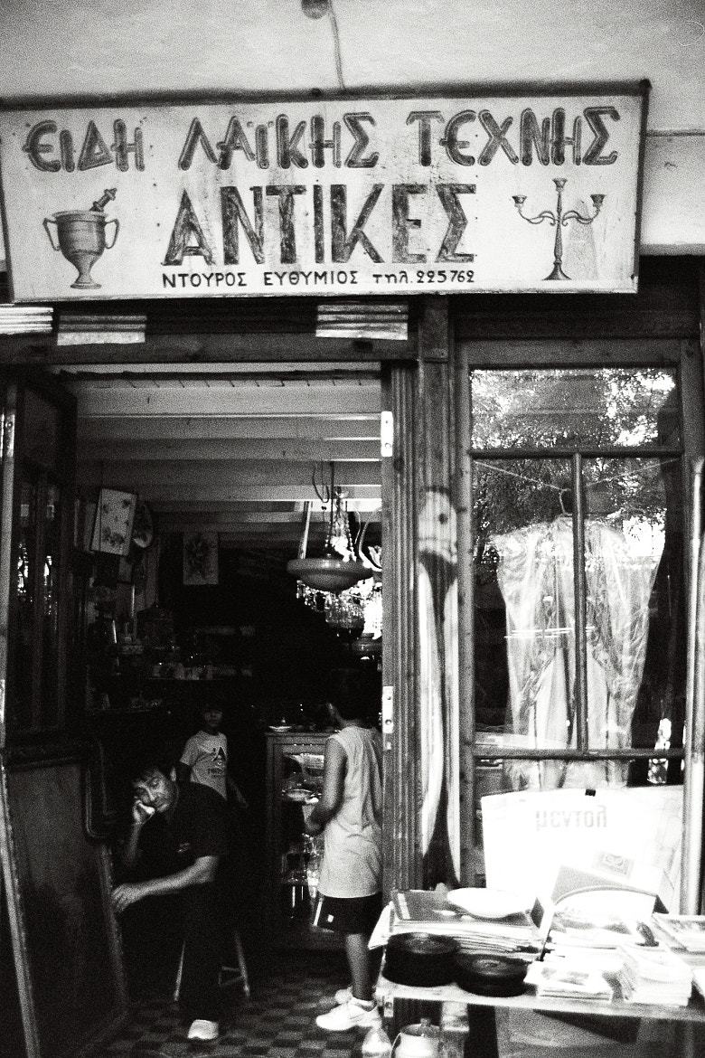 Photograph Antique shop by Odysseas Pappas on 500px